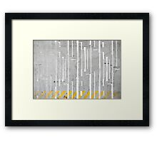 Urban Interface Framed Print
