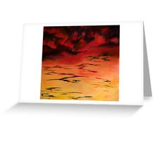 Tropical  Storm 3 Greeting Card