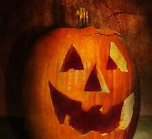 Autumn - Halloween - Jack-o-Lantern  by Mike  Savad