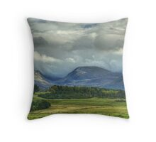 The Northern Cairngorms  Throw Pillow