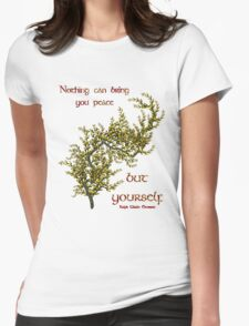 Flowering Tree Inspirational Quote T-Shirt