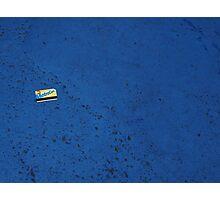 Lost Metro Card Photographic Print