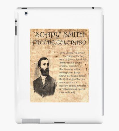 Soapy Smith iPad Case/Skin