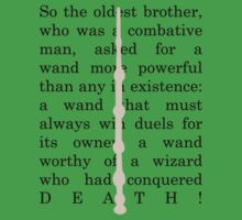 The Elder wand One Piece - Short Sleeve