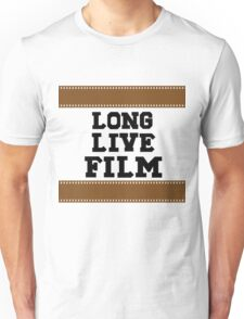 Long Live Film Unisex T-Shirt