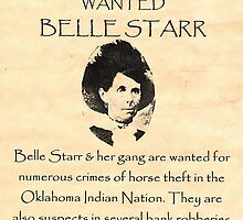 Bell Starr Wanted by lawrencebaird