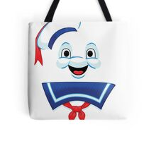 Mr. Marshmallow Destruction (Happy Version) Tote Bag