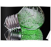 Bubble Bulbs. Poster