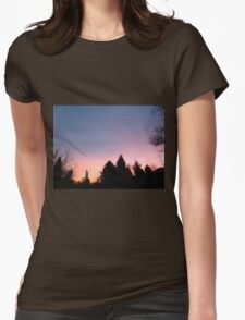 pretty sunset Womens Fitted T-Shirt