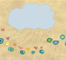 Whimsical Cloud Art by gailg1957
