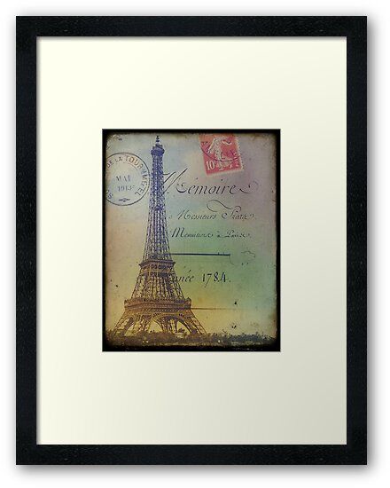 Sweet Eiffel Tower 2 by Norella Angelique