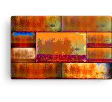 Wilderness Quilt Canvas Print