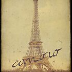 Sweet Eiffel Tower 3 by CalicoCollage