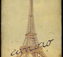 Sweet Eiffel Tower 3 by Norella Angelique