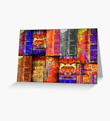 Lone Journey Quilt Greeting Card