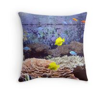 Seattle Aquarium Throw Pillow