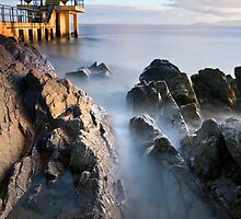 Blackrock diving tower Salthill Galway Ireland. by MickBourke