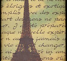 Sweet Eiffel Tower 5 by Norella Angelique