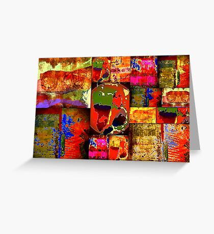 Kinetic WORLD Quilt Greeting Card
