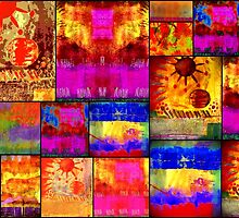 Golden SUN Quilt by © Angela L Walker