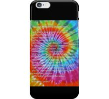 Who's got munchies? [Tie Dye] iPhone Case/Skin