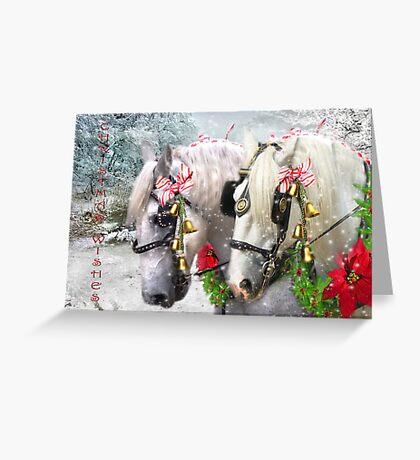Jingle Horse Greeting Card