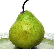 Single Pear by Gloria Abbey
