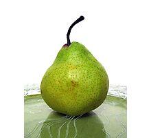Single Pear Photographic Print