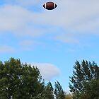 Saturday morning class - Floating football by Christina Adams