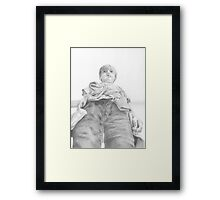 Giant Jack Framed Print