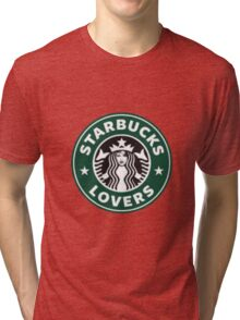 Taylor Swift Starbucks Lovers Logo Tri-blend T-Shirt