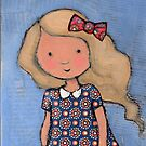 """""""Eloise"""" with bow by Bethan Matthews"""