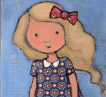 """Eloise"" with bow by Bethan Matthews"