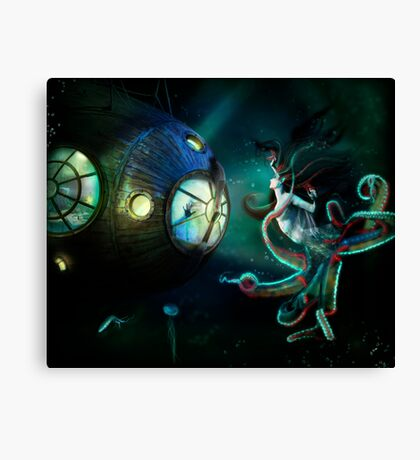 20,000 Leagues Canvas Print