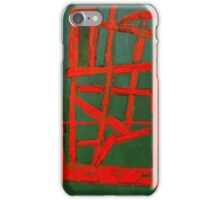 RED LINE OR FIRE iPhone Case/Skin