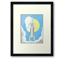 The Angelic Opal Framed Print
