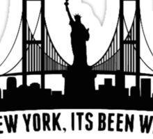 WELCOME TO NEW YORK taylor swift Sticker