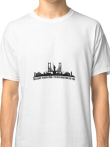 WELCOME TO NEW YORK taylor swift Classic T-Shirt