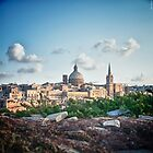 Valletta in the background by Jakov Cordina