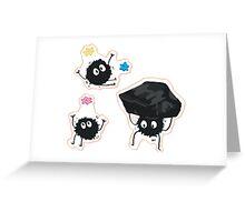 Soot Greeting Card