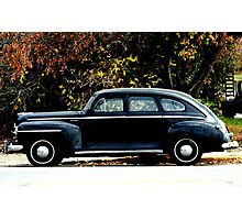 1948 Plymouth Special Deluxe Coupe Photographic Print