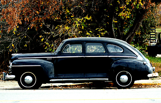 1948 Plymouth Special Deluxe Coupe by Leslie van de Ligt
