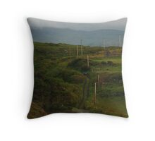Rural Donegal Throw Pillow