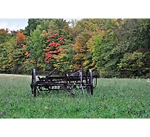 Early fall rural scene Photographic Print