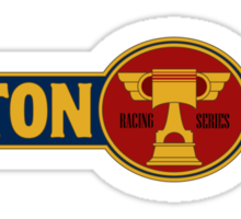Piston Cup Large Classic Logo Sticker
