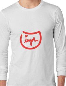 Jimph Logo Design Long Sleeve T-Shirt