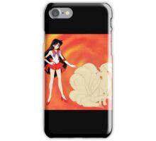 Sailor Mars & Ninetails iPhone Case/Skin