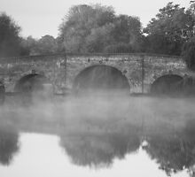 Bridge in the mist by Rob Lodge