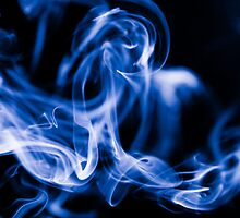 Smoke Close Up by Marc Garrido Clotet