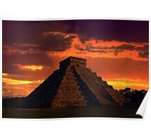 Mystical Mayan Poster